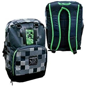 51%2BIzIuZR6L. SS300  - MINECRAFT Official School / Sport BACKPACK Big Version 44x21cm GREEN Color ORIGINAL