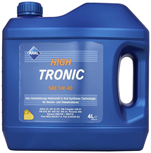 aral-20634-high-tronic-5w40-4-liter