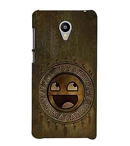 EPICCASE wooden smiley Mobile Back Case Cover For Meizu m2 Note (Designer Case)