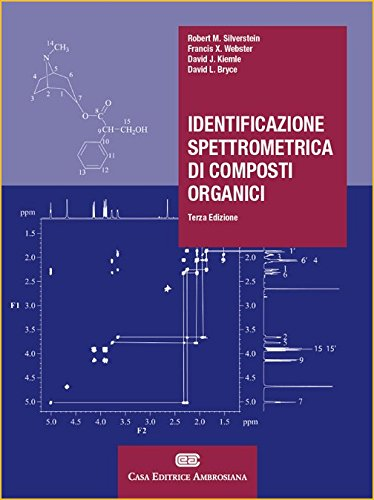 Identificazione spettrometrica di composti organici. Con Contenuto digitale (fornito elettronicamente)