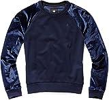 G-STAR RAW Damen Sweatshirt Kikko Xzula R Sw Wmn L/S, Blau (Sartho Blue 6067), Medium