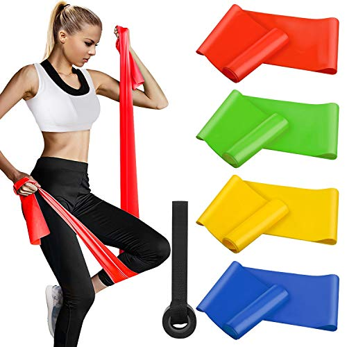 Alviller Bandas Elasticas Fitness 4 Piezas|200 x 15