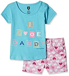 3932decd1c4c 50%off 612 League Baby Girls Clothing Set (ILS17I75006-3 - 6 Months-Pink)