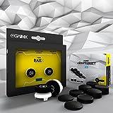 RAISX inkl. 8-in-1 Adapterset, PS4 Aim/Zielhilfe, Thumbstick-Verlängerung mit wechselbarem Grip