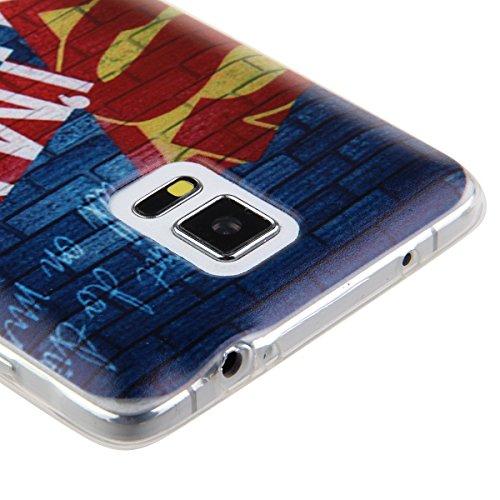 Etche Case pour Galaxy Note 3 ,Caoutchouc housse pour Samsung Galaxy Note 3,Coffret flexible pour Galaxy Note 3,étui en silicone pour iPhone 6 Plus,mignon éléphant multicolore Slim amant volière vélo  Pattern #6