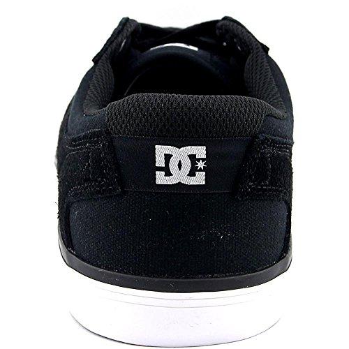 DC Mens Argosy VULC Skate Shoe Black/Grey