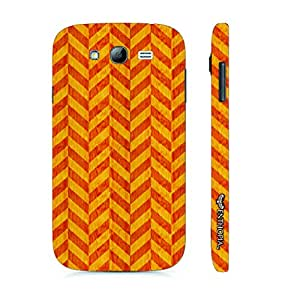 Samsung Galaxy J7 Red Leaf designer mobile hard shell case by Enthopia