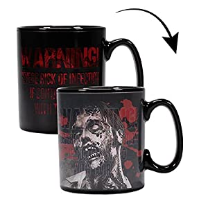 Close Up z888250 Resident Evil Efecto Térmico Taza XL infec Ted