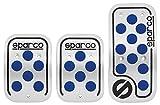 Sparco SPC0406AZ Set di Pedali Urban Model