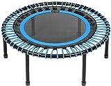 bellicon Classic Mini-Trampolin, blau, kompakt ø 100 cm, Schraubbeine, bis 200 kg, inkl....