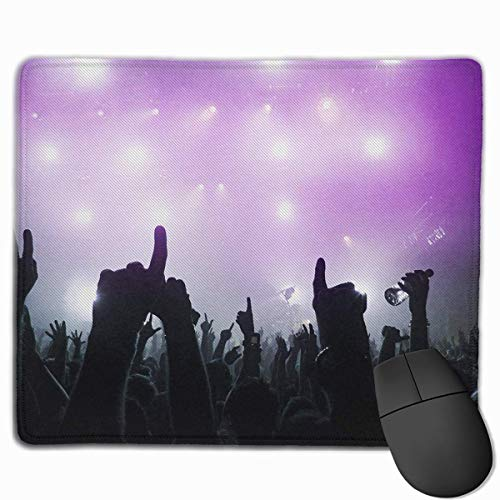 f8ba94857 Mouse Pad Music Concert Funny Art Rectangle Rubber Mousepad 11.81 X 9.84  Inch Gaming Mouse Pad