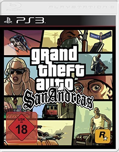 Grand Theft Auto: San Andreas - [PlayStation 3] - San Gta Andreas Ps2