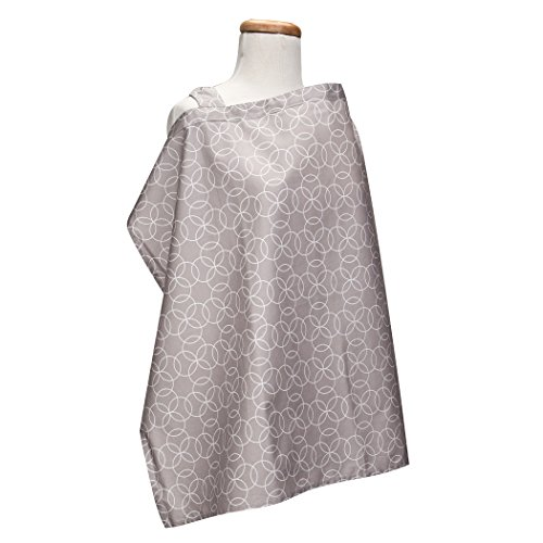 Trend Lab Circles Gray Nursing Cover