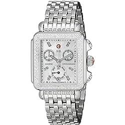 Michele Reloj de mujer cuarzo suizo correa y caja de acero MWW06P000099
