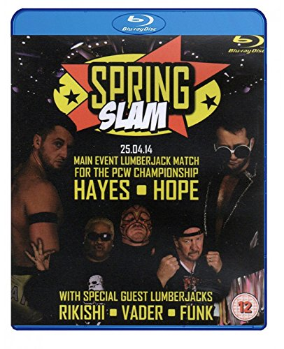 PCW - PRESTON CITY WRESTLING - Springslam 2014 BLU-RAY