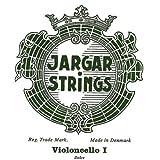 Cordes Jargar Violoncelle Jeu Acier chromé; Medium