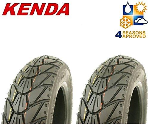 Reifen Winter (2 KENDA Winter Reifen 3,50 - 10 M+S - K415 - 56 - L - TL für Roller / Scooter)