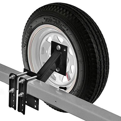 Ersatzrad Träger für Boot und Utility Trailer Ersatzrad-Halterung für 4oder 5Lug Rad Halterung ohne - Anhänger-reifen-halter