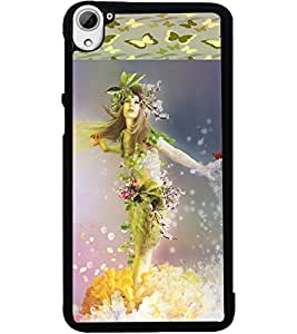 ColourCraft Beautiful Angel Design Back Case Cover for HTC DESIRE 826