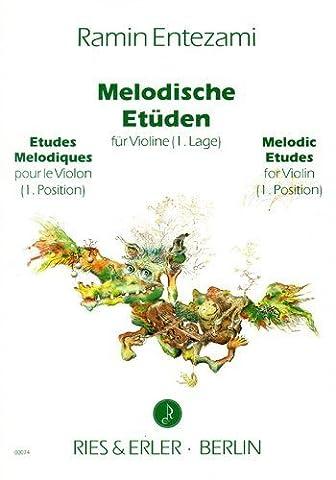 Melodische Etüden für Violine solo (1. Lage)