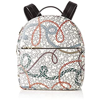 Tous Km, Bolso mochila para Mujer, (Multicolor 995810382), 25x30x10.5 cm (W x H x L)