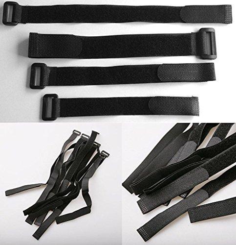 Soort Utility Riemen Quick Release Backpack Compression bagage Riemen 3cmx30cm 2 stuks