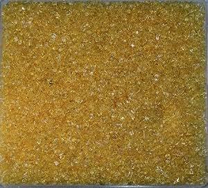 GLASGRANULAT 1-2mm. 5 kg. Glassand 5000 g in CARAMEL -29
