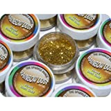 Rainbow Dust Jewel Dark Gold Cake Glitter