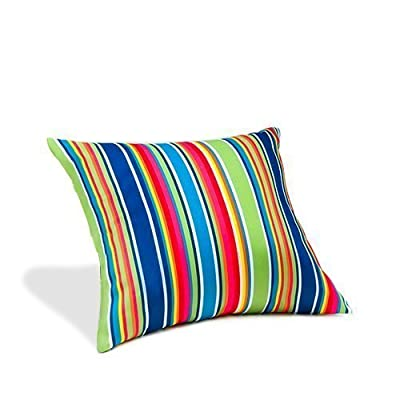 "Gardenista® Gold Collection Climbing Stripe Print 18"" Outdoor Patio Waterproof Cushion Ready Filled Garden - inexpensive UK light shop."