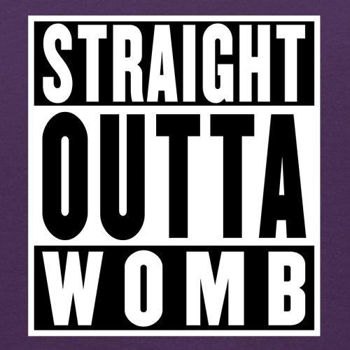 Straight Outta Womb - Herren T-Shirt - 13 Farben Lila