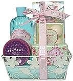 Gloss Geschenkset Badeset, Vintage, Rose, 10 Stück Geschenk-Box - Bade-Geschenk