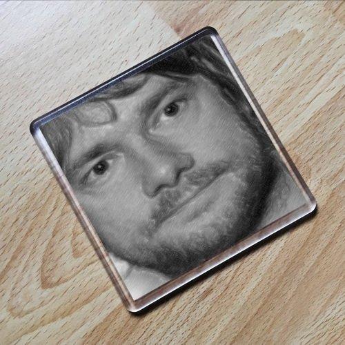 SEASONS Martin Freeman - Original Art Coaster #js002
