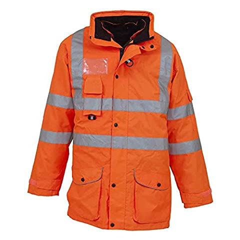 Men's High visibility multi-functional 7-in-1 jacket (HVP711) YOKO Breathable and