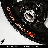 Honda VFR 800 Crossrunner X motocicleta pegatina borde interior GR