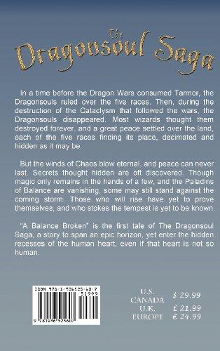 A Balance Broken - Book One of the Dragonsoul Saga