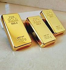 Glittering Gold Bar Paper weight