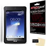 [Pack of 3] TECHGEAR® Asus MeMO Pad HD 7 / ME173X CLEAR LCD Screen Protectors With Cleaning Cloth + Application Card