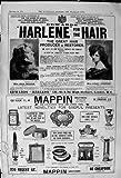 Frères 1900 de Mappin de Restaurateur de Cheveux de Harlene de Publicité Cheapside Londres