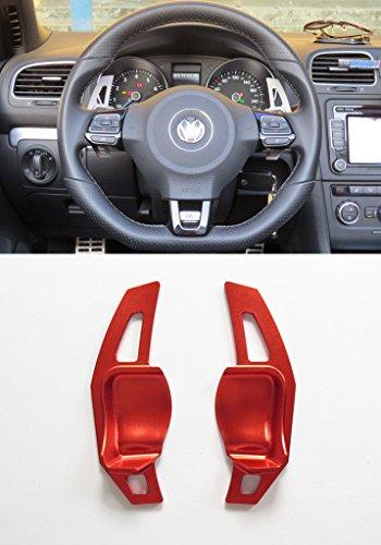 Preisvergleich Produktbild Pinalloy Rot Schaltwippen Schaltpaddel Paddle Shifter Extensions fur MK 5 6