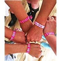 Girls on Tour Hen Party Festival Style Wristbands