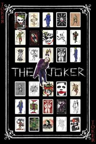 1art1 42267 Poster Batman The Dark Knight Joker Pack 91 X 61 cm