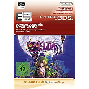 The Legend of Zelda: Majora's Mask [3DS Download Code]