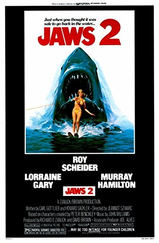 Jaws 2 Movie Poster (68,58 x 101,60 cm)