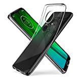 Spigen M25CS25948 Liquid Crystal Kompatibel mit Moto G7 Hülle/Moto G7 Plus Hülle Transparent TPU Silikon Handyhülle Durchsichtige Schutzhülle Case Crystal Clear