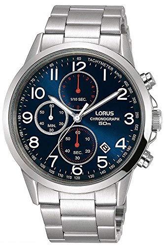 Lorus Reloj Cronógrafo para Hombre de Cuarzo con Correa en Acero Inoxidable RM367EX9