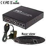Audio Video Converter Xagoo HDMI-Ausgang 720P / 1080 SCART + HDMI vers HDMI + HDMI Convertisseur - Signal de Format 480I (NTSC) / 576i (PAL), HDMI / SCART système PAL NTSC Digitaler HDMI-