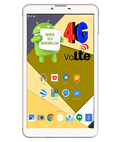 Ikall N4 Tablet (7 inch, 16GB, 4G + LTE + Voice Calling), White
