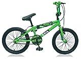 Unbekannt 18 Zoll BMX Kinder Jungen Mädchen Fahrrad Rad Kinderfahrrad Jungenfahrrad Bike Kinderrad Dingo GRÜN