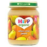 HiPP Organic Stage 1 From 4 Months William Christ Pears , 125g