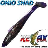 Relax ' Ohio Shad 4circa 10,5cm colore Merluzzo Killer 5pezzi im Set Persico & Zander Esca
